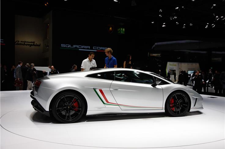 Race-derived Lamborghini Gallardo LP 570-4 Squadra Corse is the fastest Gallardo ever.