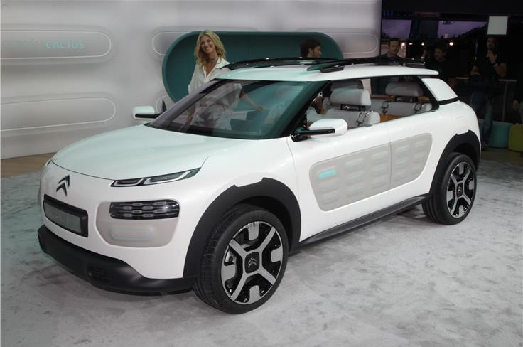 Citroen's radical Cactus concept car will go into production in 2014.