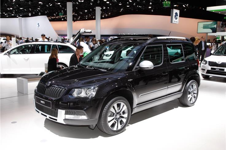 Skoda's facelifted Yeti will be offered in City and Outdoor variants.