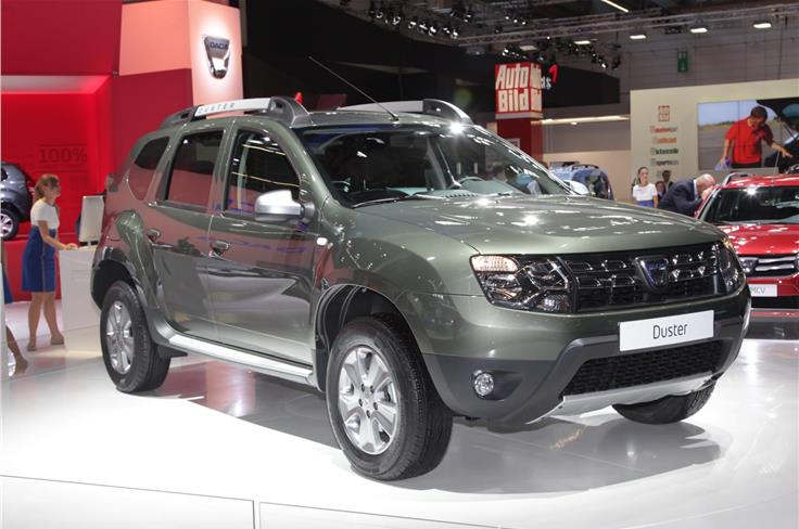 Dacia's facelifted Duster was showcased.