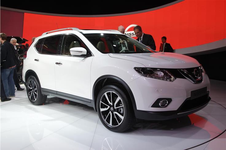 Nissan's next-generation X-Trail was unveiled.
