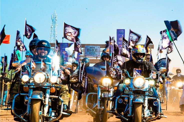 India Bike Week 2014 is Go! Photo credit: Mehdi