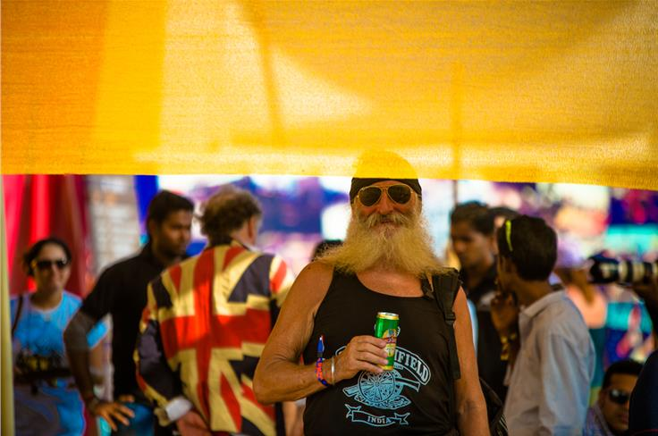 You get all kinds of bikers at IBW. Photo credit: Mehdi