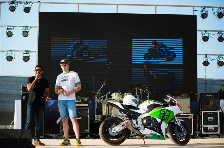 Scott Redding was there too!  Photo credit: Mehdi