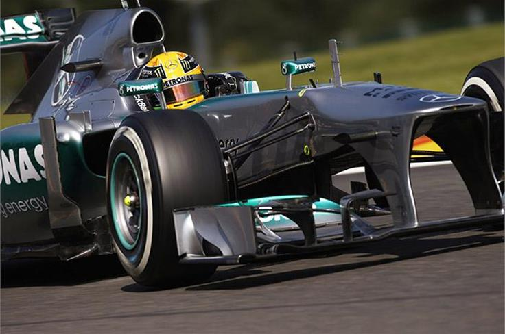 There will be something for F1 fans in the form of the Mercedes AMG Petronas F1 car.