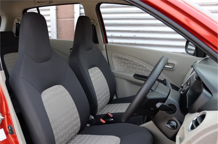 The Celerio features a roomy dual tone interior.