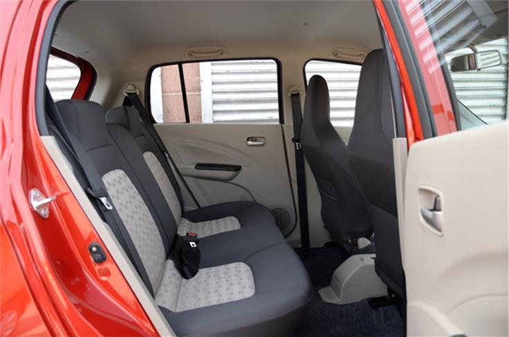 Rear passengers get decent head and leg room.