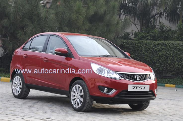 The Zest is Tata's new compact sedan based on the modified X1 platform which also underpins the new Bolt hatchback.