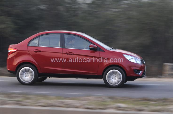 The Tata Zest is 3,995mm long and this qualifies it as a small car, enabling the carmaker to pay less tax.