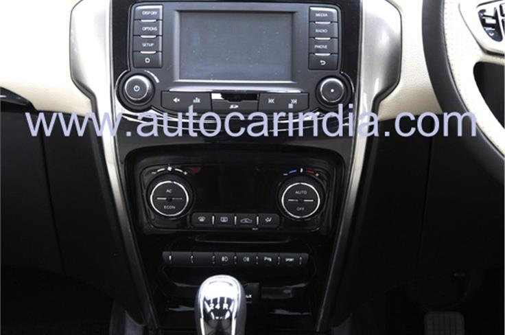 The Zest also gets a new, nicely integrated infotainment and connectivity system that has been developed in collaboration with Harman.