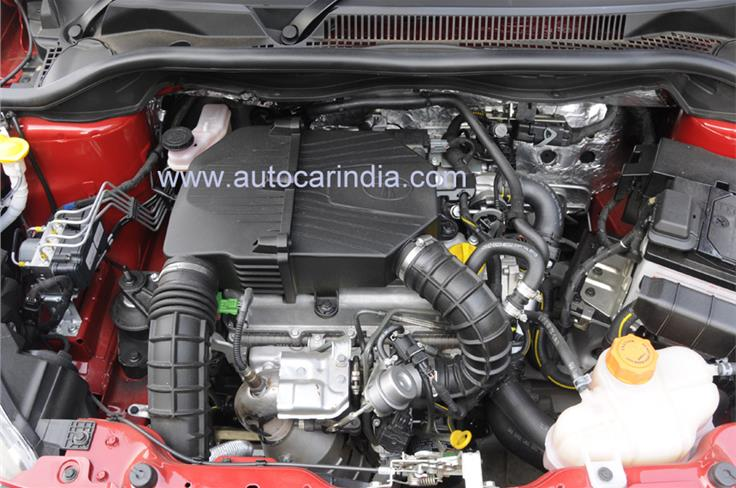 Tata's indigenously-developed 1.2-litre Revotron turbo-petrol that will make its debut on the Bolt hatchback and Zest sedan.