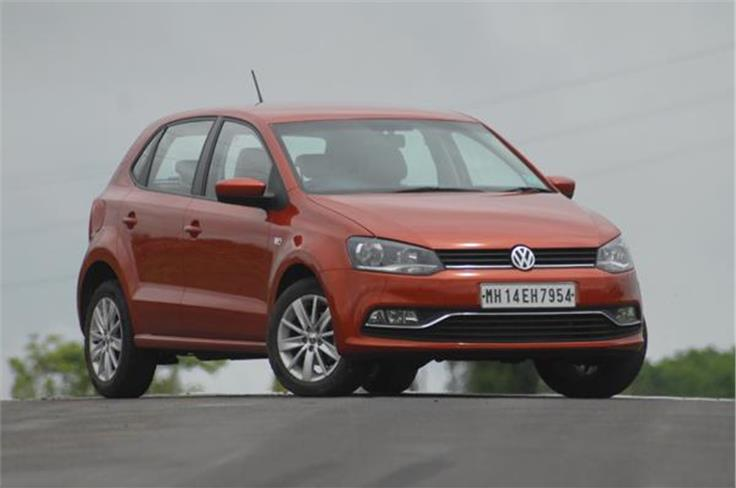 The VW Polo facelift also gets new alloy wheels.