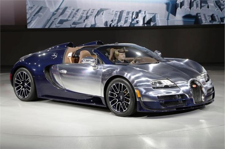 Bugatti 'Ettore Bugatti' Veyron