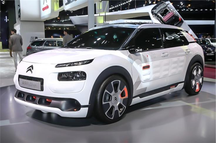 Citroën's C4 Cactus Airflow 2L concept