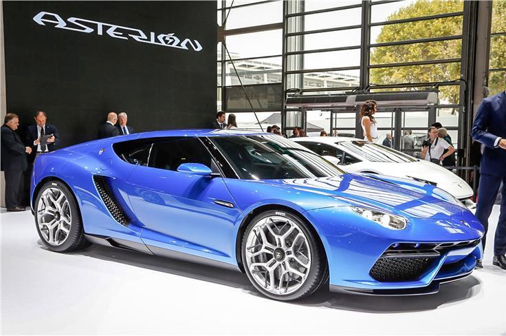Lamborghini's Asterion concept