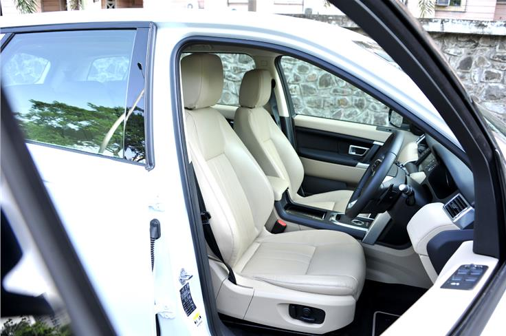 As on all modern Land Rovers, the Discovery Sport's cabin is neat with a long-lasting feel to everything.