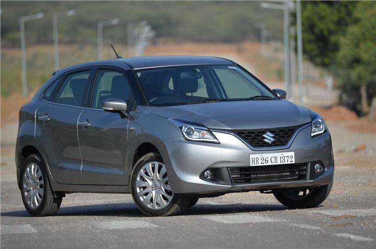 The Baleno, when launched will sit above the Swift in Maruti's line-up and rival the likes of the Honda Jazz and Hyundai i20.
