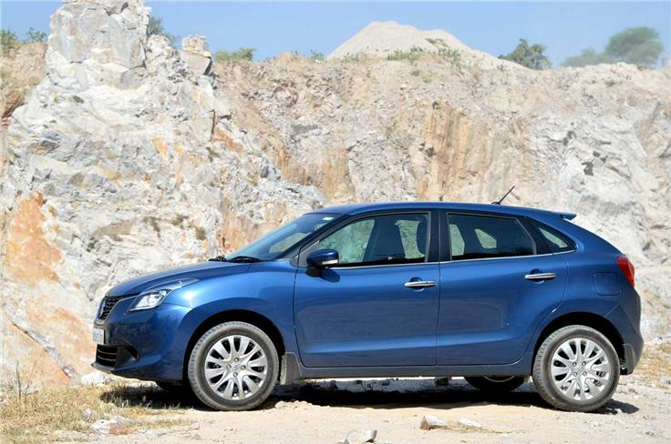 At 170mm, the India-spec Baleno sits 20mm higher than its international sibling.