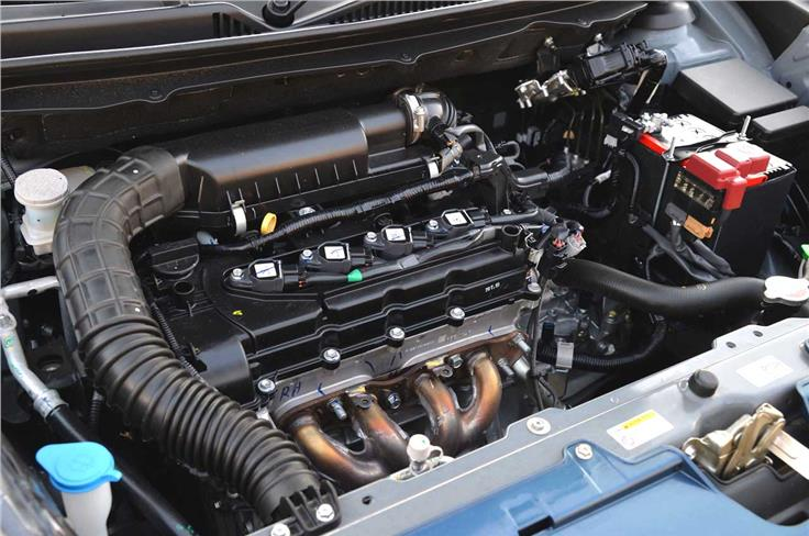 The 1.2-litre petrol is also the same unit as on the Swift but now gets the option of a CVT gearbox.