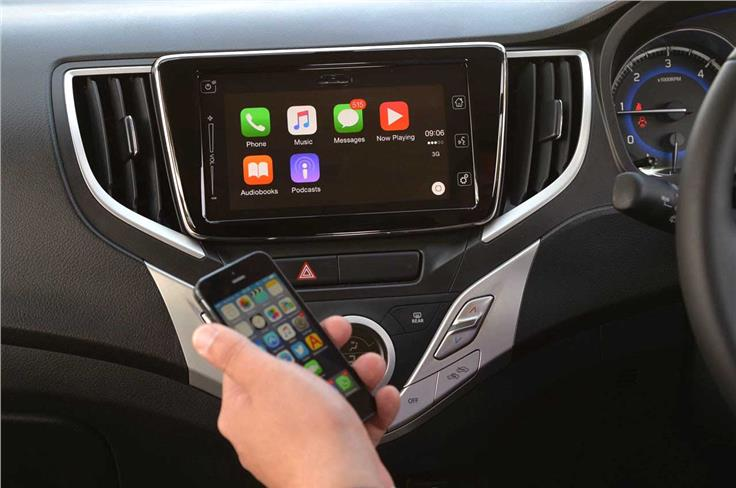 The SmartPlay infotainment system comes equipped with Apple CarPlay. Android Auto is also expected to be introduced in the near future.
