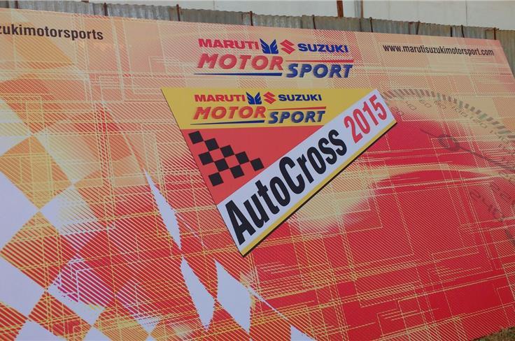 Maruti Autocross 2015.