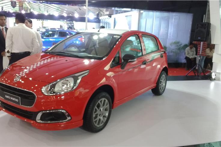 Fiat Punto Sportivo.