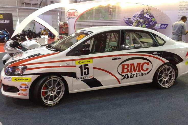 VW Vento tuned by BMC Air filters.