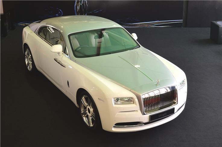 Rolls Royce Wraith.