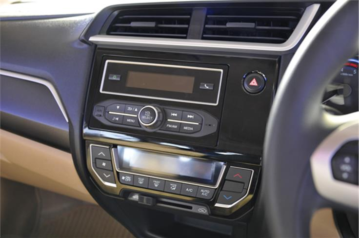 The new audio system includes integrated Bluetooth audio and telephony, along with AM/FM, MP3, USB and Aux-in.
