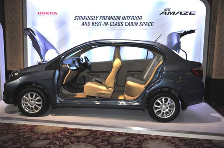 The Amaze has always been class-leading in terms of maximising cabin space and that hasn't changed one bit in this facelift.