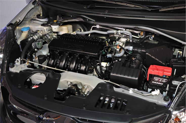 The 1.2-litre i-VTEC engine remains unchanged, but now gets a CVT gearbox which promises a whopping 18.1kpl mileage.