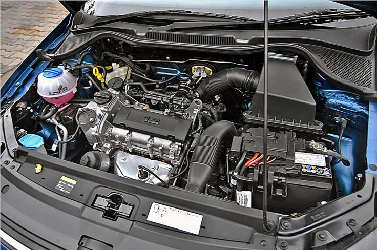 The 1.2-litre naturally aspirated petrol motor is adequate for the compact sedan though it lacks refinement.
