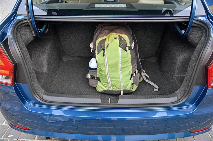The 330-litre boot is 77 litres short of the segment best.