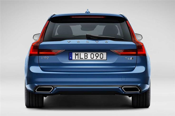 Volvo says that it has tweaked the R-Design's chassis to improve driving dynamics though did not specify any further mechanical changes.