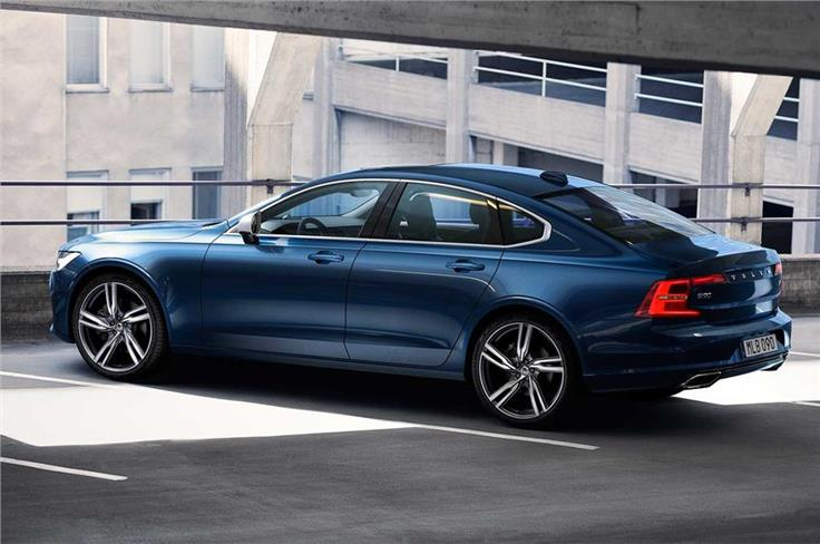 The S90 and V90 R-Design will crown the model's line-up when it goes on sale internationally sometime early next year.