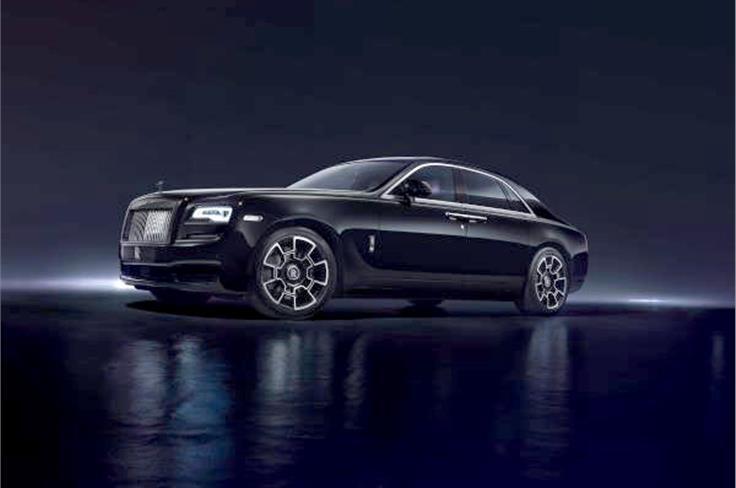 Rolls-Royce Ghost Black Badge.