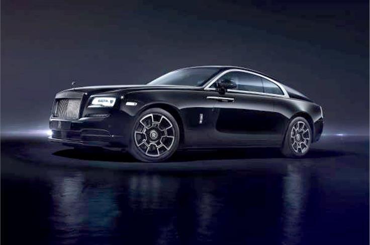 Rolls-Royce Wraith Black Badge.