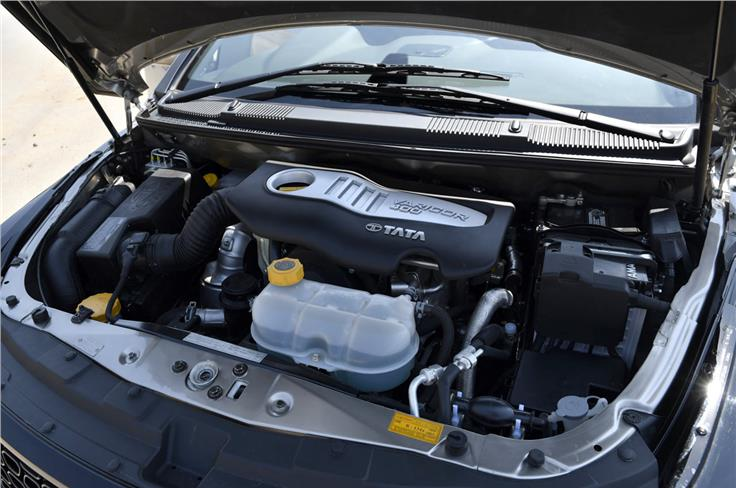 2.2-litre Varicor400 is the same engine as on the Safari Storme. The unit is good for 156hp and 400Nm.