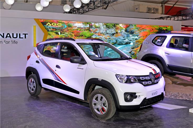 Renault Kwid 'Live for more' edition.