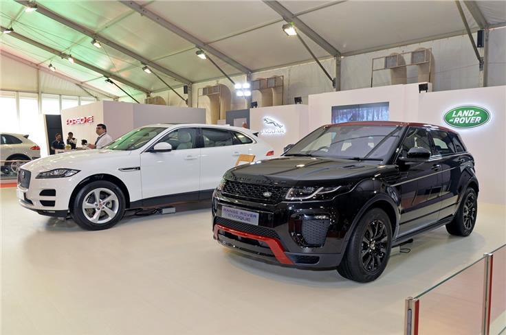 2017 Range Rover Evoque, Jaguar F-Pace.