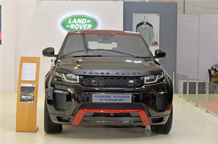 Range Rover Evoque Ember edition.