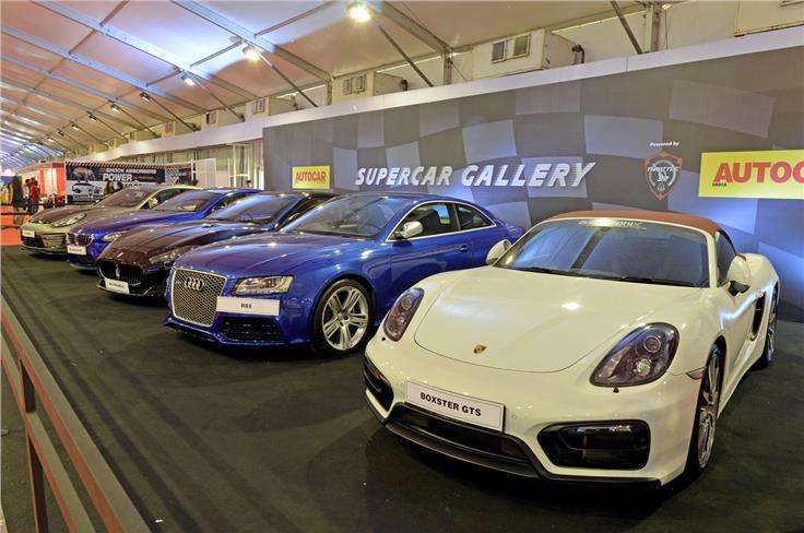 Autocar supercar gallery at APS 2017.