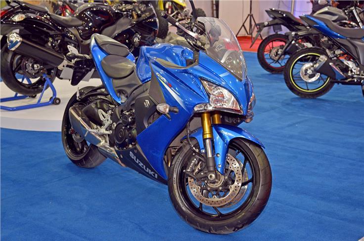 Suzuki GSX-1000F.