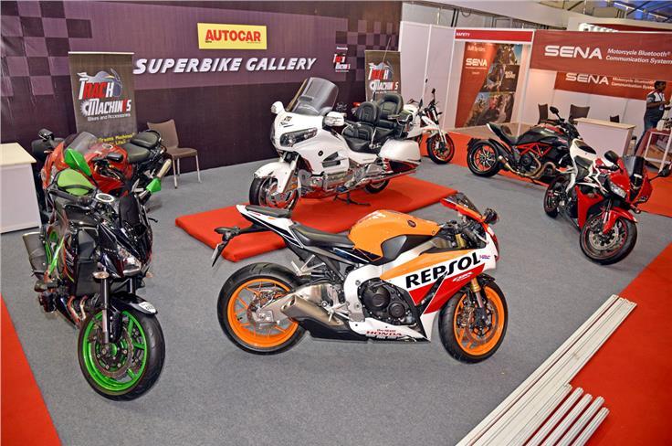 Autocar superbike gallery at APS 2017.