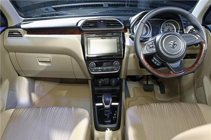 Top trim models get goodies such as Maruti's SmartPlay touchscreen infotainment system, reverse camera and auto climate control.