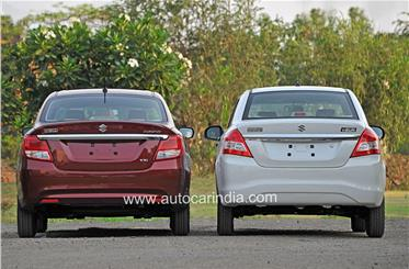 The new Dzire sits lower and wider than its predecessor.