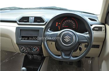 Base LXi/LDi variants get only the bare basics like AC and power steering. There's no tachometer either.