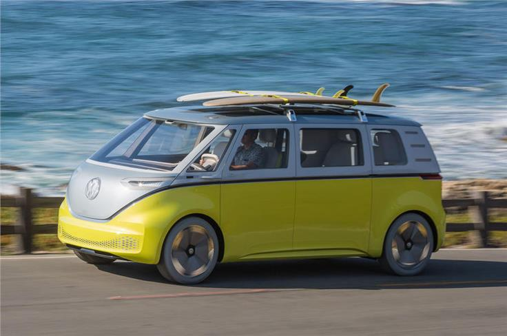 The Microbus-inspired Volkswagen ID Buzz will go into production in 2022.