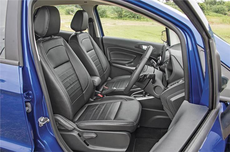 New front seats wider and softer to suit larger frames; leather on top-spec cars.