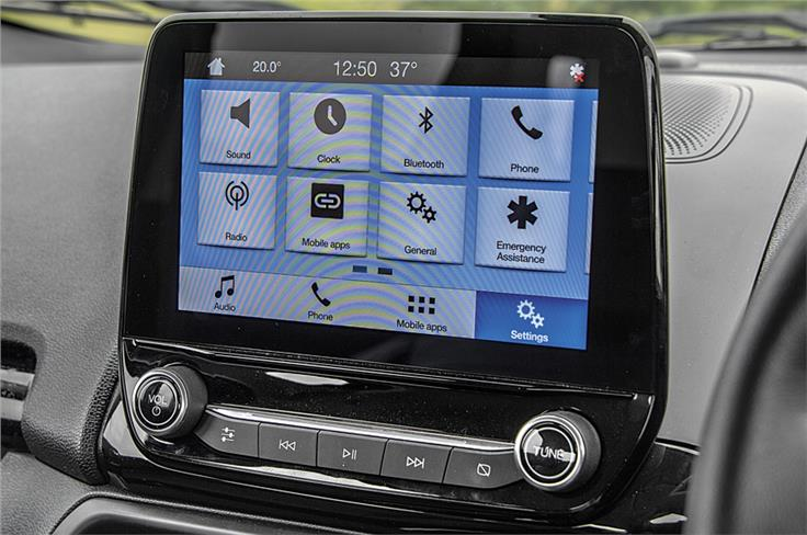 New Sync 3 touchscreen is best around; smartphone-slick with brilliant graphics.